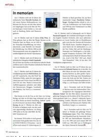 Titelbild der Ausgabe 1/2020 von AKTUELL: In memoriam. Zeitschriften als Abo oder epaper bei United Kiosk online kaufen.