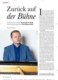 Titelbild der Ausgabe 1/2020 von PORTRÄT: Zurück auf der Bühne. Zeitschriften als Abo oder epaper bei United Kiosk online kaufen.