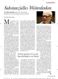 Titelbild der Ausgabe 1/2020 von Substanzielles Weiterdenken. Zeitschriften als Abo oder epaper bei United Kiosk online kaufen.