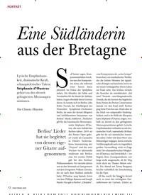 Titelbild der Ausgabe 2/2020 von Eine Südländerin aus der Bretagne. Zeitschriften als Abo oder epaper bei United Kiosk online kaufen.
