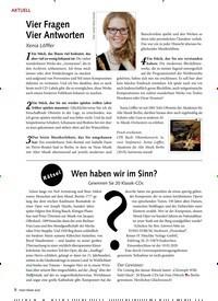 Titelbild der Ausgabe 3/2020 von Vier Fragen Vier Antworten. Zeitschriften als Abo oder epaper bei United Kiosk online kaufen.