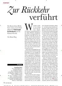 Titelbild der Ausgabe 3/2020 von PORTRÄT: Zur Rückkehr verführt. Zeitschriften als Abo oder epaper bei United Kiosk online kaufen.