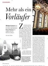 Titelbild der Ausgabe 3/2020 von SCHWÄRMEREI: Mehr als ein Vorläufer. Zeitschriften als Abo oder epaper bei United Kiosk online kaufen.