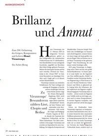 Titelbild der Ausgabe 3/2020 von Brillanz und Anmut. Zeitschriften als Abo oder epaper bei United Kiosk online kaufen.