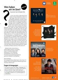 Titelbild der Ausgabe 4/2020 von Wen haben wir im Sinn?. Zeitschriften als Abo oder epaper bei United Kiosk online kaufen.