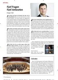 Titelbild der Ausgabe 4/2020 von Fünf Fragen Fünf Antworten. Zeitschriften als Abo oder epaper bei United Kiosk online kaufen.