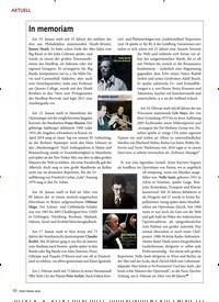 Titelbild der Ausgabe 4/2020 von In memoriam. Zeitschriften als Abo oder epaper bei United Kiosk online kaufen.