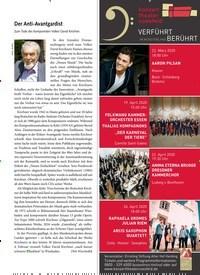 Titelbild der Ausgabe 4/2020 von Der Anti-Avantgardist. Zeitschriften als Abo oder epaper bei United Kiosk online kaufen.
