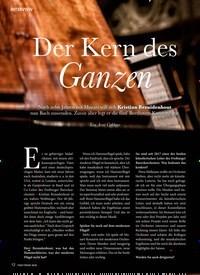 Titelbild der Ausgabe 4/2020 von Der Kern des Ganzen. Zeitschriften als Abo oder epaper bei United Kiosk online kaufen.