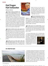 Titelbild der Ausgabe 2/2021 von Fünf Fragen Fünf Antworten. Zeitschriften als Abo oder epaper bei United Kiosk online kaufen.
