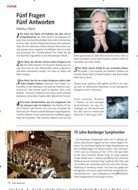 Titelbild der Ausgabe 4/2021 von Fünf Fragen Fünf Antworten. Zeitschriften als Abo oder epaper bei United Kiosk online kaufen.