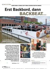 Titelbild der Ausgabe 4/2019 von Erst Backbord, dann BACKBEAT…. Zeitschriften als Abo oder epaper bei United Kiosk online kaufen.