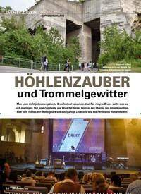 Titelbild der Ausgabe 5/2019 von »SOPRONDRUM« 2019: HÖHLENZAUBER und Trommelgewitter. Zeitschriften als Abo oder epaper bei United Kiosk online kaufen.