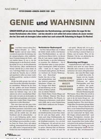 Titelbild der Ausgabe 6/2019 von NACHRUF: GENIE und WAHNSINN. Zeitschriften als Abo oder epaper bei United Kiosk online kaufen.