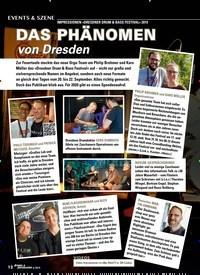 Titelbild der Ausgabe 6/2019 von IMPRESSIONEN »DRESDNER DRUM & BASS FESTIVAL« 2019: DAS PHÄNOMEN. Zeitschriften als Abo oder epaper bei United Kiosk online kaufen.