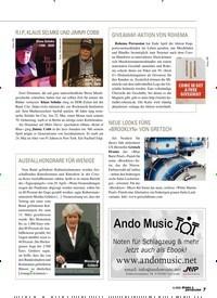 Titelbild der Ausgabe 4/2020 von AUSFALLHONORARE FÜR WENIGE. Zeitschriften als Abo oder epaper bei United Kiosk online kaufen.