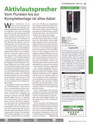 Titelbild der Ausgabe 1/2019 von STANDBOXEN(AKTIV): Aktivlautsprecher. Zeitschriften als Abo oder epaper bei United Kiosk online kaufen.