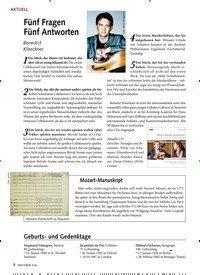 Titelbild der Ausgabe 1/2020 von AKTUELL: Fünf Fragen Fünf Antworten. Zeitschriften als Abo oder epaper bei United Kiosk online kaufen.
