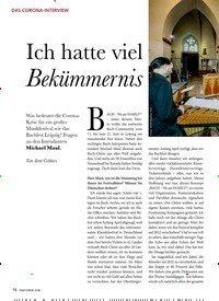 Titelbild der Ausgabe 7/2020 von DAS CORONA-INTERVIEW: Ich hatte viel Bekümmernis. Zeitschriften als Abo oder epaper bei United Kiosk online kaufen.