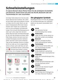Titelbild der Ausgabe 1/2020 von Benachrichtigung und Befehle: Schnelleinstellungen. Zeitschriften als Abo oder epaper bei United Kiosk online kaufen.