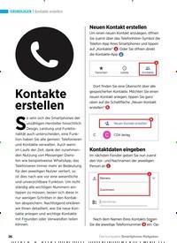 Titelbild der Ausgabe 2/2019 von Kontakte erstellen: Kontakte erstellen. Zeitschriften als Abo oder epaper bei United Kiosk online kaufen.