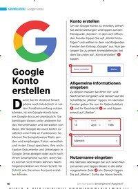 Titelbild der Ausgabe 1/2020 von Google Konto: Google Konto erstellen. Zeitschriften als Abo oder epaper bei United Kiosk online kaufen.