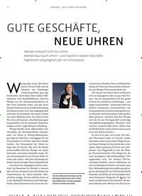 Titelbild der Ausgabe 4/2019 von GUTE GESCHÄFTE, NEUE UHREN. Zeitschriften als Abo oder epaper bei United Kiosk online kaufen.