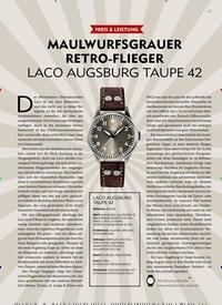 Titelbild der Ausgabe 4/2019 von PREIS & LEISTUNG: MAULWURFSGRAUER RETRO-FLIEGER LACO AUGSBURG TAUPE 42. Zeitschriften als Abo oder epaper bei United Kiosk online kaufen.
