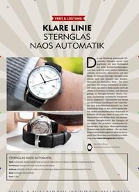 Titelbild der Ausgabe 6/2019 von PREIS & LEISTUNG: KLARE LINIE STERNGLAS NAOS AUTOMATIK. Zeitschriften als Abo oder epaper bei United Kiosk online kaufen.