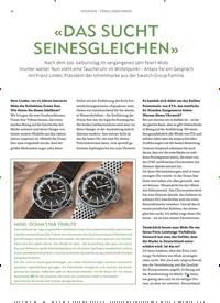 Titelbild der Ausgabe 6/2019 von INTERVIEW – FRANZ LINDER (MIDO): «DAS SUCHT SEINESGLEICHEN». Zeitschriften als Abo oder epaper bei United Kiosk online kaufen.