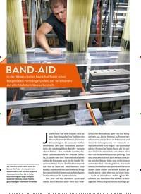 Titelbild der Ausgabe 6/2019 von BAND-AID: TUDOR. Zeitschriften als Abo oder epaper bei United Kiosk online kaufen.