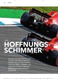 Titelbild der Ausgabe 3/2019 von FORMEL 1: HOFFNUNGSSCHIMMER. Zeitschriften als Abo oder epaper bei United Kiosk online kaufen.