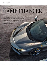 Titelbild der Ausgabe 3/2019 von PORTFOLIO: Ferrari SF90 Stradale: GAME CHANGER. Zeitschriften als Abo oder epaper bei United Kiosk online kaufen.