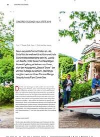 Titelbild der Ausgabe 3/2019 von CONCORSO D'ELEGANZA: FRISCH GEMACHT. Zeitschriften als Abo oder epaper bei United Kiosk online kaufen.
