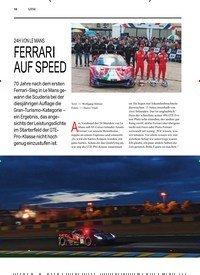 Titelbild der Ausgabe 3/2019 von 24H VON LE MANS: FERRARI AUF SPEED. Zeitschriften als Abo oder epaper bei United Kiosk online kaufen.