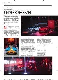 Titelbild der Ausgabe 4/2019 von SZENE: INSIDE MARANELLO: UNIVERSO FERRARI. Zeitschriften als Abo oder epaper bei United Kiosk online kaufen.