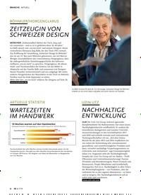 Titelbild der Ausgabe 7/2019 von AKTUELL: BÖHMLER/HORGENGLARUS: ZEITZEUGIN VON SCHWEIZER DESIGN. Zeitschriften als Abo oder epaper bei United Kiosk online kaufen.