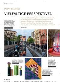 Titelbild der Ausgabe 7/2019 von AKTUELL: SALONE DEL MOBILE: VIELFÄLTIGE PERSPEKTIVEN. Zeitschriften als Abo oder epaper bei United Kiosk online kaufen.