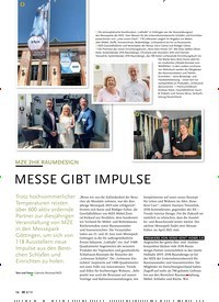 Titelbild der Ausgabe 8/2019 von MZE 2HK RAUMDESIGN:MESSE GIBT IMPULSE. Zeitschriften als Abo oder epaper bei United Kiosk online kaufen.