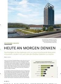 Titelbild der Ausgabe 9/2019 von REVERSIBEL BAUEN: HEUTE AN MORGEN DENKEN. Zeitschriften als Abo oder epaper bei United Kiosk online kaufen.