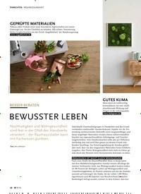 Titelbild der Ausgabe 9/2019 von WOHNGESUNDHEIT: BESSER BERATEN BEWUSSTER LEBEN. Zeitschriften als Abo oder epaper bei United Kiosk online kaufen.