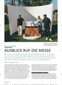 Titelbild der Ausgabe 11/2019 von IMM COLOGNE: AUSBLICK AUF DIE MESSE. Zeitschriften als Abo oder epaper bei United Kiosk online kaufen.