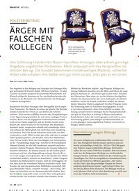 Titelbild der Ausgabe 12/2019 von AKTUELL: POLSTER-BETRUG: ÄRGER MIT FALSCHEN KOLLEGEN. Zeitschriften als Abo oder epaper bei United Kiosk online kaufen.