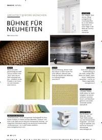 Titelbild der Ausgabe 12/2019 von AKTUELL: ARCHITECT@WORK MÜNCHEN: BÜHNE FÜR NEUHEITEN. Zeitschriften als Abo oder epaper bei United Kiosk online kaufen.