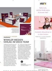 Titelbild der Ausgabe 1/2020 von HEIMTEXTIL INSIDER: WINKLER MEDIEN VERLAG IM DECO TEAM. Zeitschriften als Abo oder epaper bei United Kiosk online kaufen.