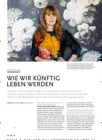 Titelbild der Ausgabe 1/2020 von INTERVIEW: WIE WIR KÜNFTIG LEBEN WERDEN. Zeitschriften als Abo oder epaper bei United Kiosk online kaufen.