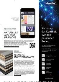 Titelbild der Ausgabe 3/2020 von EGGER: WEITERE INVESTITIONEN. Zeitschriften als Abo oder epaper bei United Kiosk online kaufen.