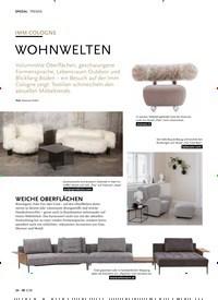Titelbild der Ausgabe 3/2020 von IMM COLOGNE: WOHNWELTEN. Zeitschriften als Abo oder epaper bei United Kiosk online kaufen.
