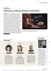 Titelbild der Ausgabe 6/2020 von MOOOI: VIRTUELLE REISE DURCH DESSINS. Zeitschriften als Abo oder epaper bei United Kiosk online kaufen.