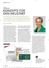 Titelbild der Ausgabe 6/2020 von FHR: KONZEPTE FÜR DEN NEUSTART. Zeitschriften als Abo oder epaper bei United Kiosk online kaufen.